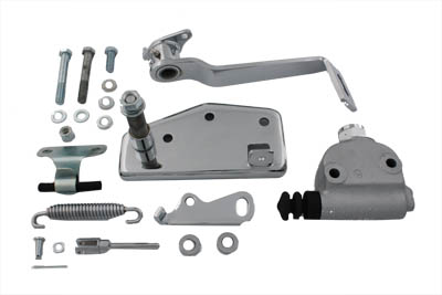 Chrome Forward Brake Control Kit Hydraulic