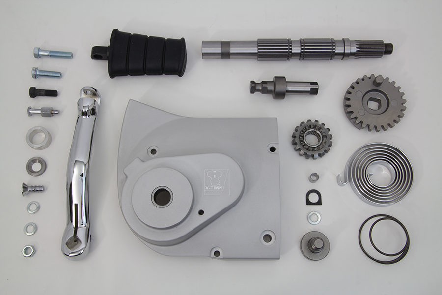Kick Starter Conversion Kit Alloy Finish