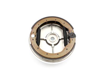 Rear Brake Backing Plate Kit Chrome