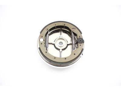 Chrome Rear Brake Backing Plate Kit