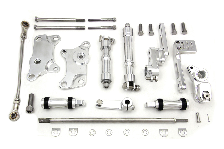 Billet Forward Control Kit Polished