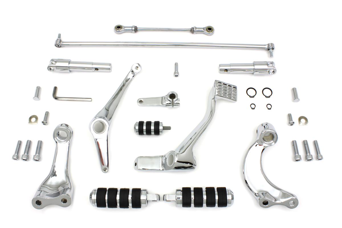 Chrome Forward Control Kit