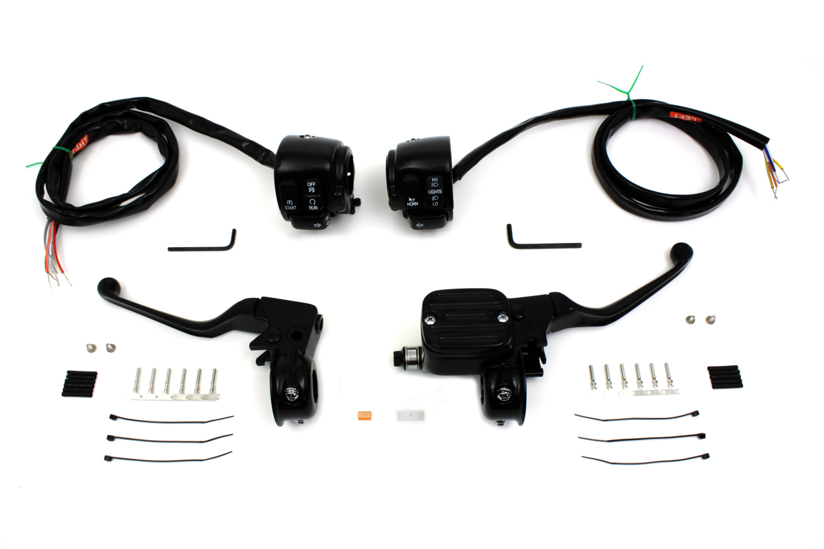 Handlebar Control Kit Black