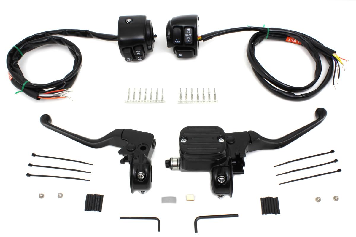 Handlebar Control Kit Black