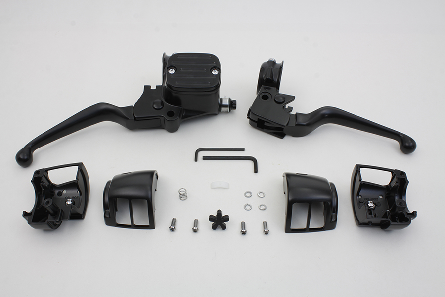 Contour Style Handlebar Control Kit Black