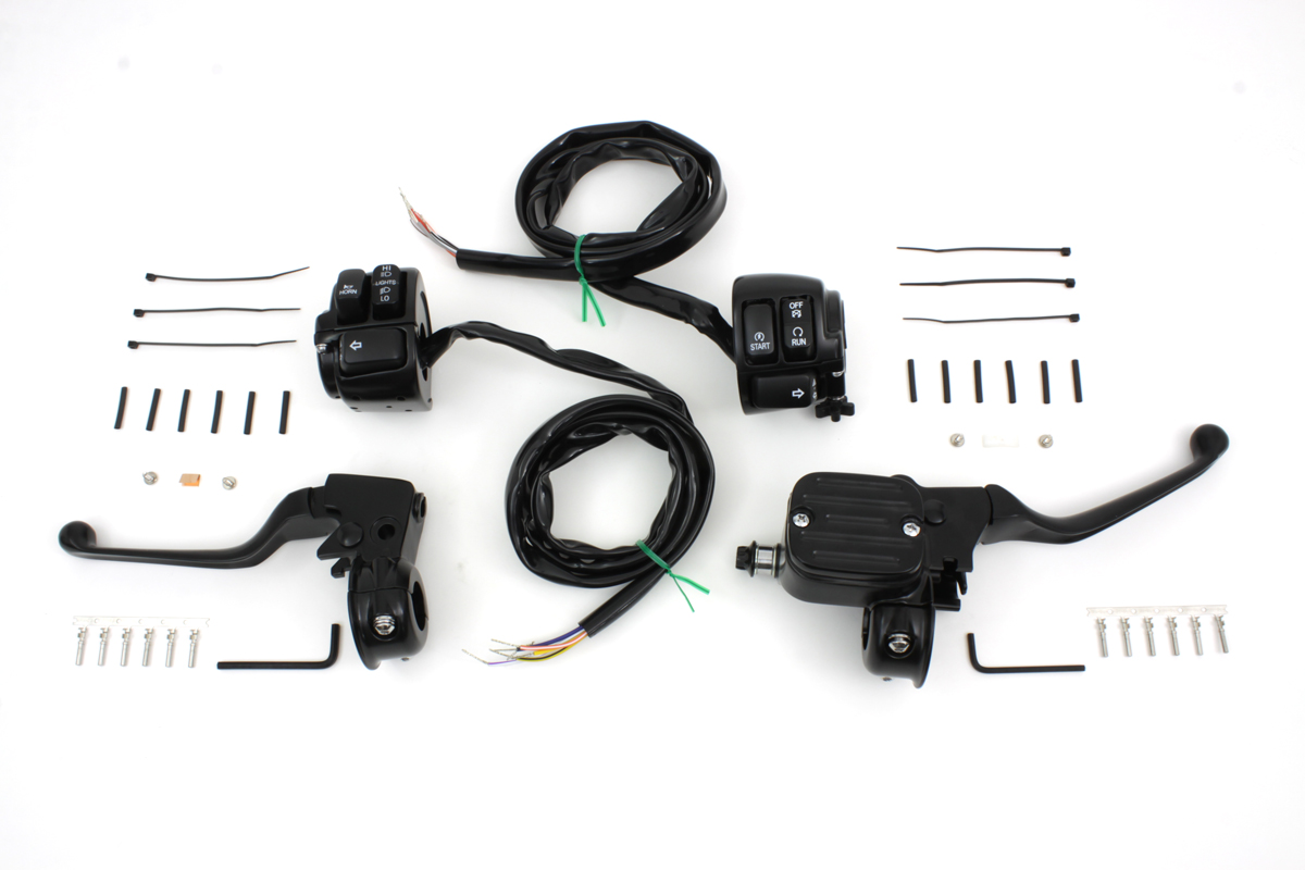 Handlebar Control Kit with Switches Black