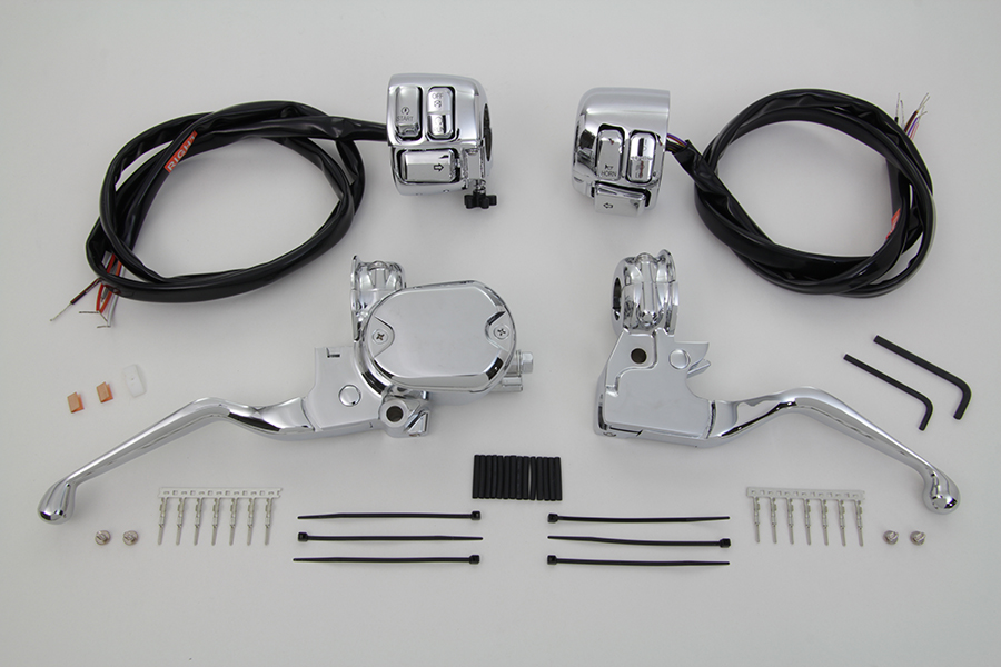 Handlebar Control Kit with Switches Chrome