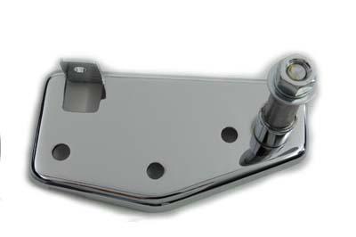 Brake Pedal Mount Plate Rear Chrome