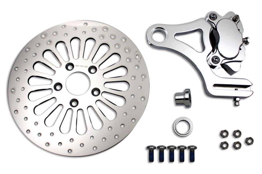 "Rear 4 Piston Caliper and 11-1/2"" Disc Kit"