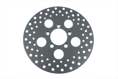 "10"" Drilled Front Brake Disc"
