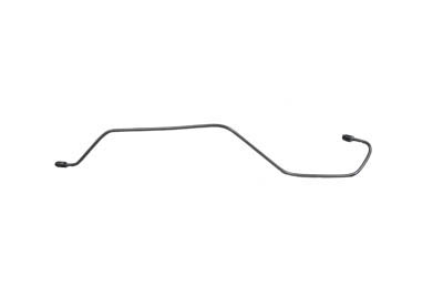 Steel Rear Brake Line Matte Chrome