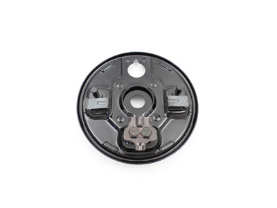 Rear Hydraulic Backing Plate Black