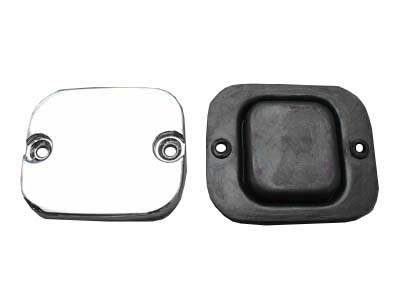 *UPDATE Front Master Cylinder Cover Billet Smooth Chrome