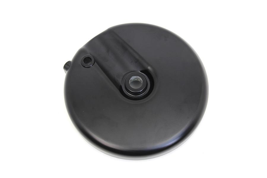 Front Brake Backing Plate Right Side Black