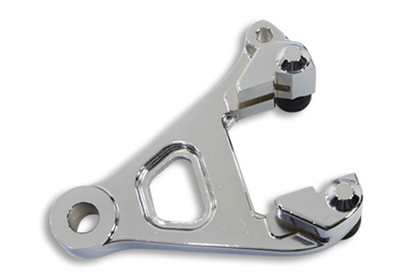 Chrome Rear Brake Caliper Bracket