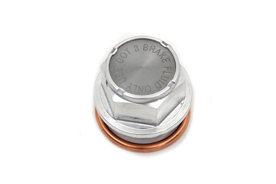 Alloy Master Cylinder Filler Top Plug Cap