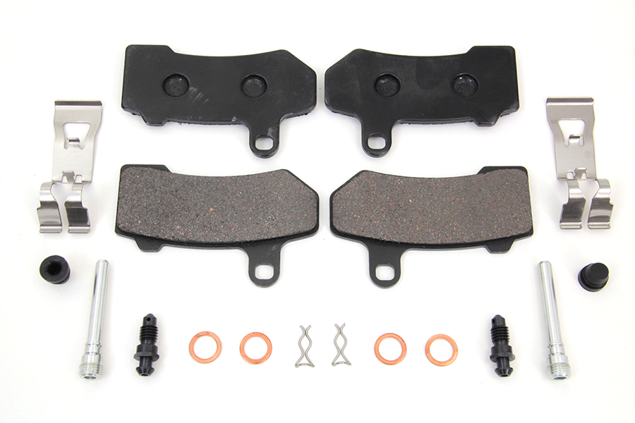 Zinc Front Brake Pad Pin Kit