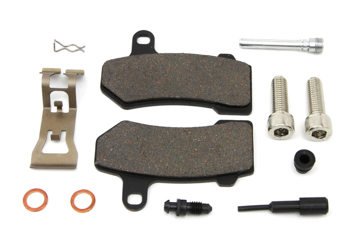Zinc Rear Brake Pad Pin Kit