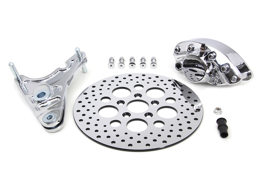 "Rear Brake Caliper Kit and 11-1/2"" Disc"