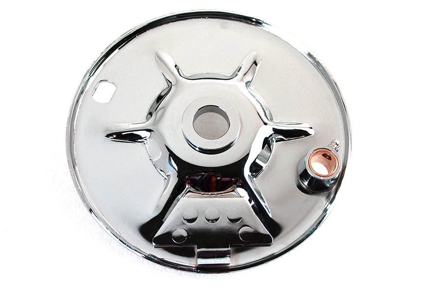 Rear Brake Backing Plate Chrome