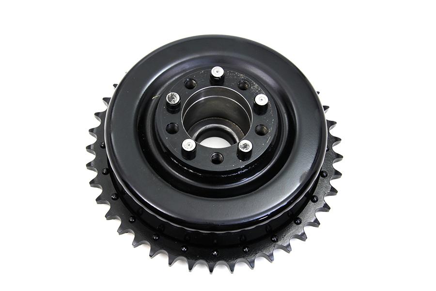 Rear Brake Drum Black