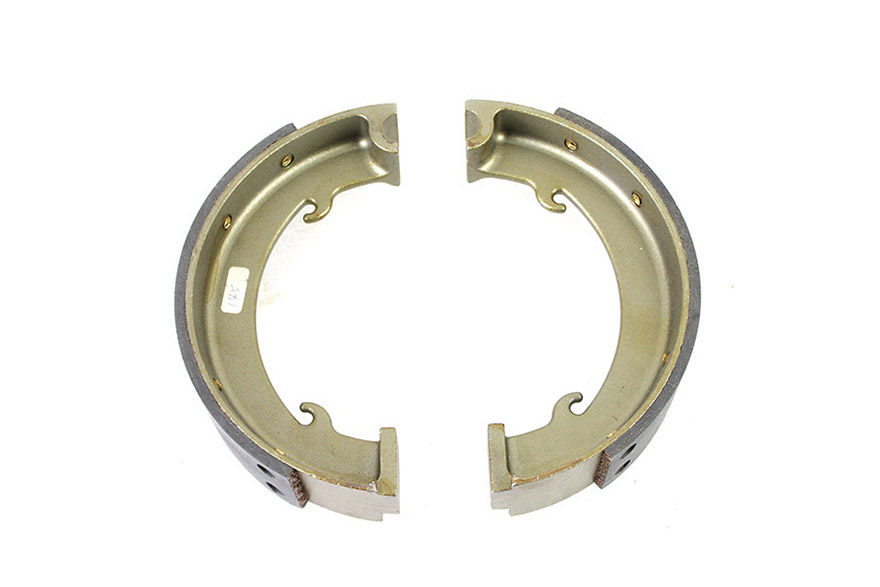 Indian Rear Brake Shoe Set Steel