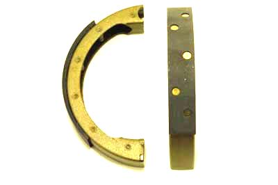 Front Brake Shoe and Lining Set