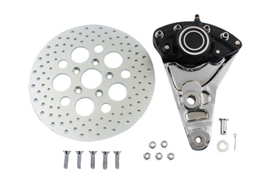 "Rear Brake Caliper Conversion Kit and 11-1/2"" Disc"