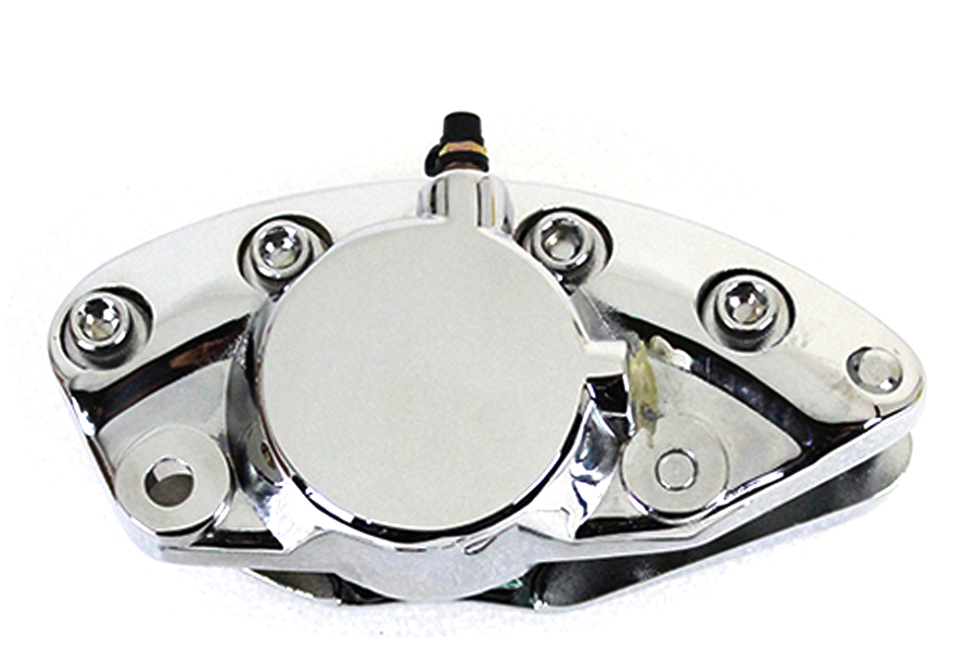 Chrome Front 1 Piston Banana Caliper