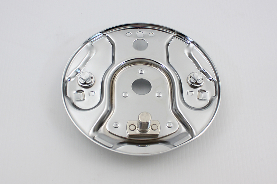 Rear Hydraulic Brake Backing Plate Chrome