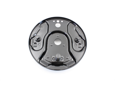 Rear Hydraulic Brake Backing Plate Black