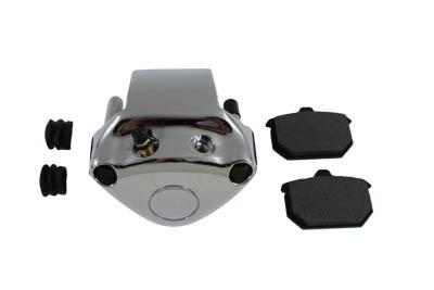 Chrome Rear 1 Piston Caliper