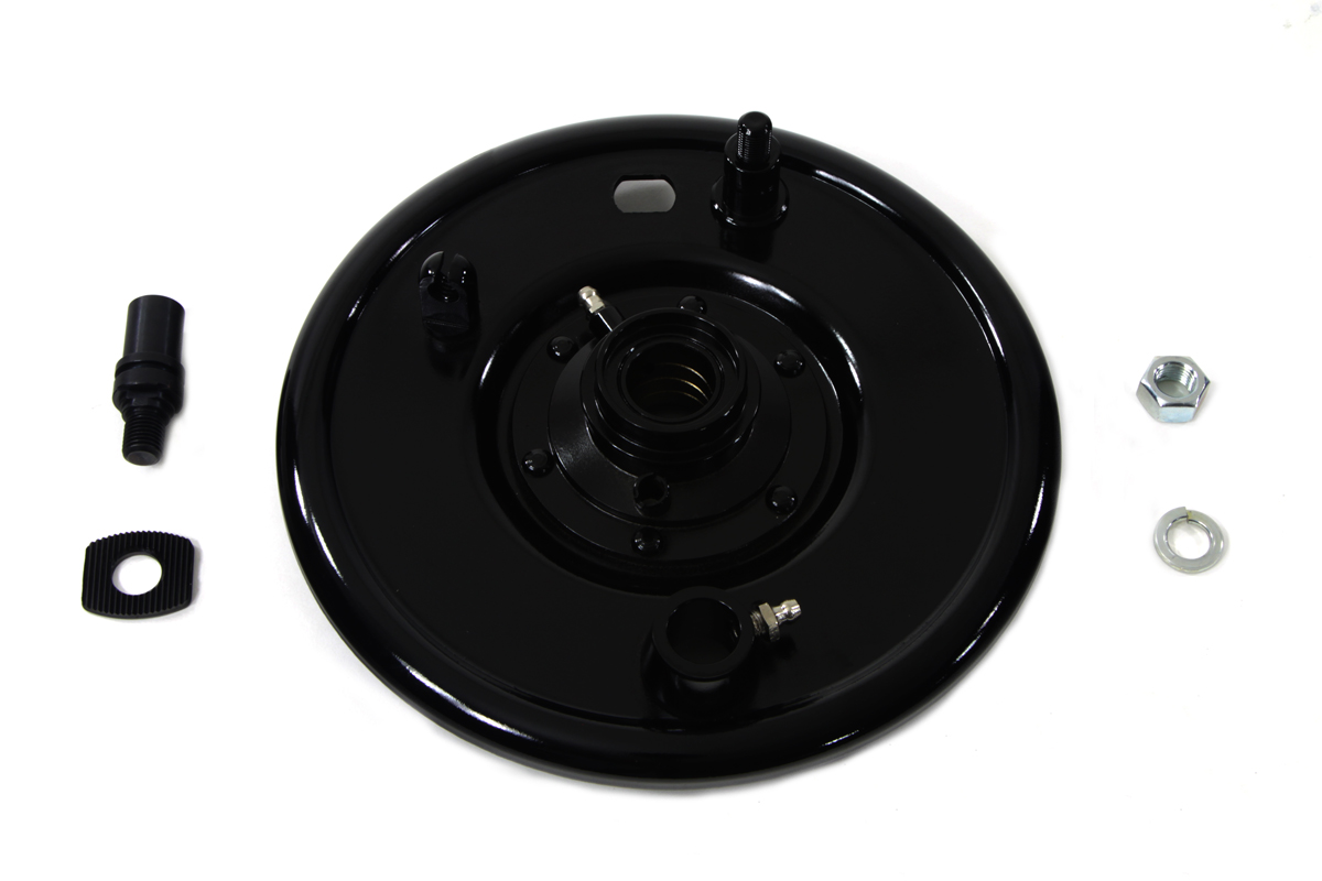 Front Mechanical Brake Backing Plate Black