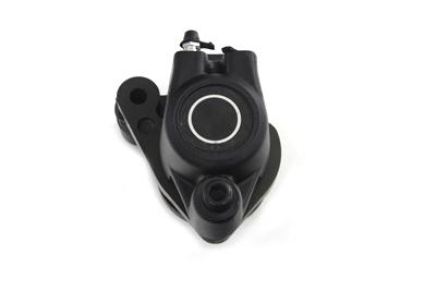 Black Front 1 Piston Right Side Caliper