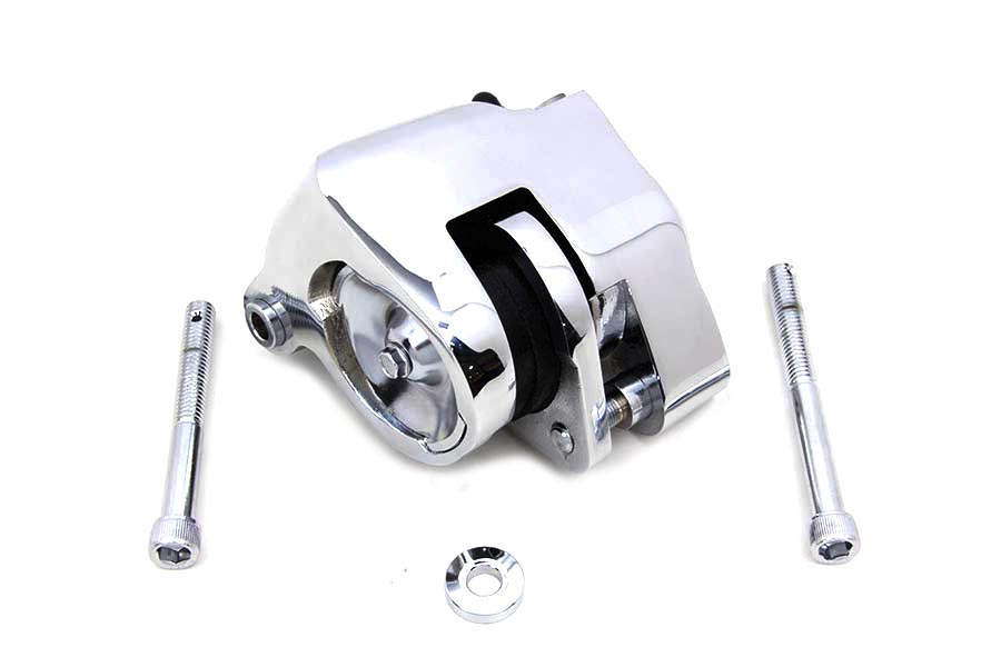 Chrome Front Caliper Assembly