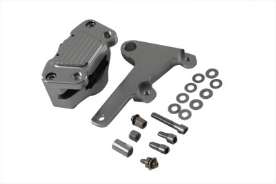 Anodized Front 2 Piston Caliper with Bracket