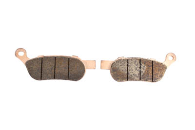 SBS Sintered Rear Brake Pad Set