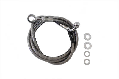 Stainless Steel Front Brake Hose 44""