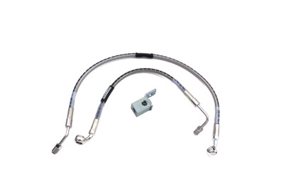 Stainless Steel Rear Brake Hose 13""
