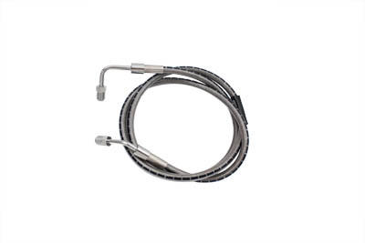 "Stainless Steel 43-1/4"" Front Brake Hose"