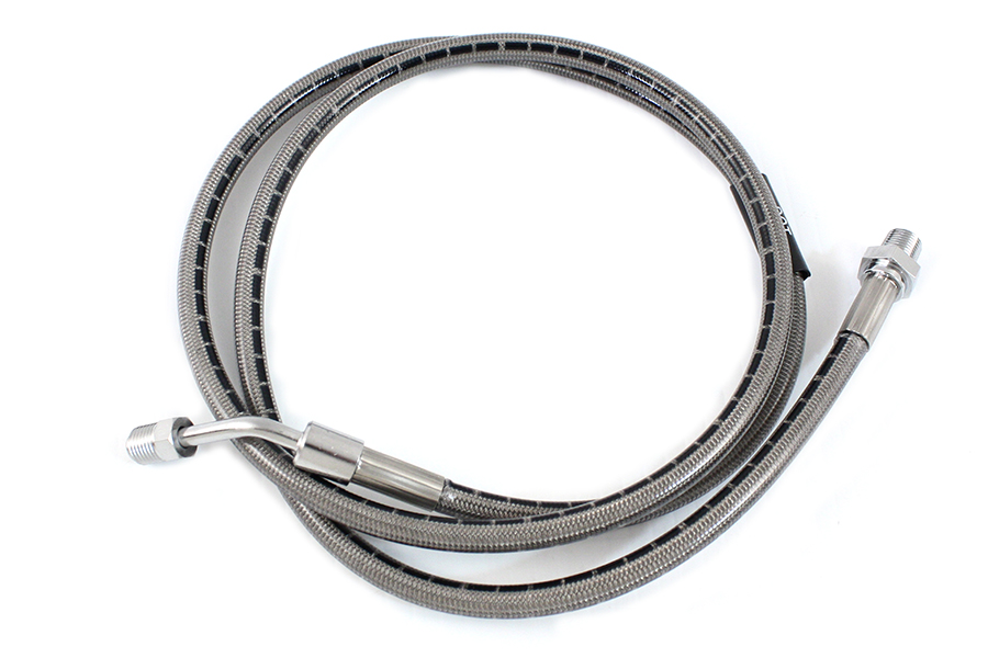 "Stainless Steel 45"" Front Brake Hose"