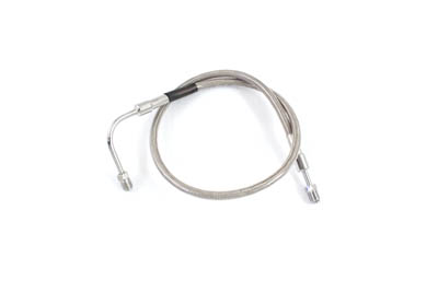 "Stainless Steel 27"" Front Brake Hose"