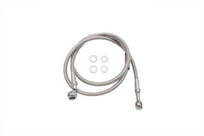 "Stainless Steel 41"" Front Brake Hose"