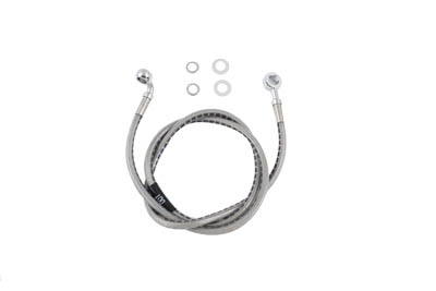 Stainless Steel Front Brake Hose 43""