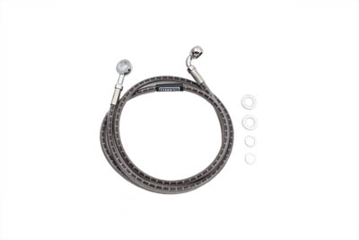 Stainless Steel Front Brake Hose 48-1/2""
