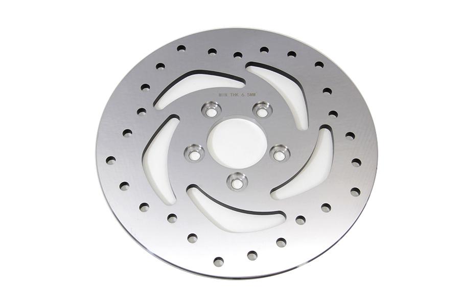 "10-1/2"" Drilled Rear Brake Disc"