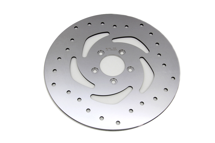 "11.8"" Drilled Front Brake Disc"