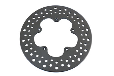 "*UPDATE 11-1/2"" Front Drilled Brake Disc Clover Leaf Style"