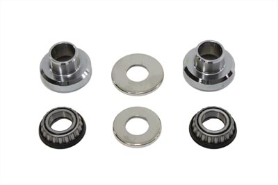 Sealed Fork Neck Cup Bearing Kit Chrome