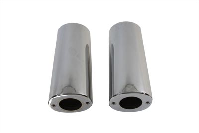 *UPDATE Fork Slider Chrome Cover Set